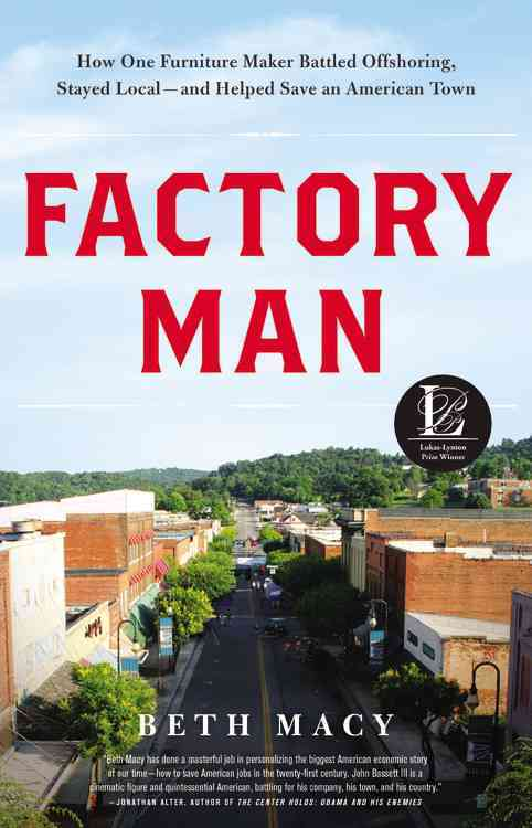 Factory Man By Macy, Beth